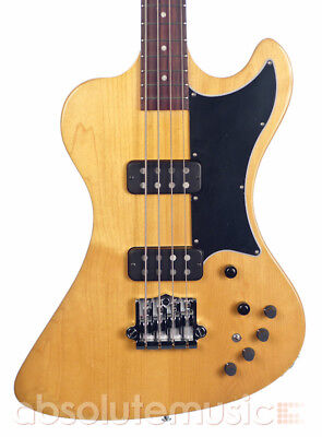 Gibson 2018 RD Artist Bass Guitar, Antique Natural with Hardcase (Pre-Owned)