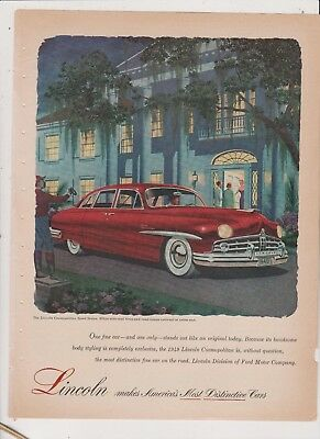 1949 Lincoln   Ad #7-Free Shipping In U.s