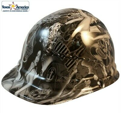 HYDRO DIPPED CAP Style Hard Hat with Ratchet Suspension- Camo Bootie ... c223f194f85d