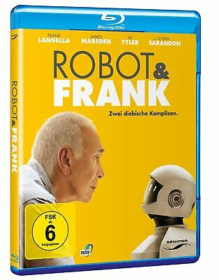 Robot & Frank (2012) IMPORT BLU-RAY NEW Free Ship - USA Compatible