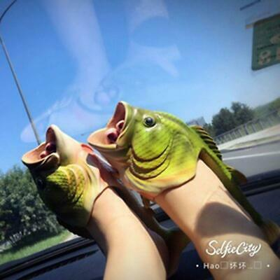 Unisex Strange Fish Style Beach Slippers- Breathable Summer Sandals Gifts Y