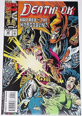 Deathlok #26 from Aug 1993 VF+ to NM- Hobgoblin