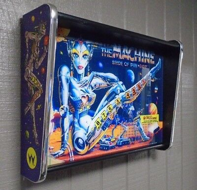 Williams The Machine Bride of Pinbot Pinball Head LED Display light box