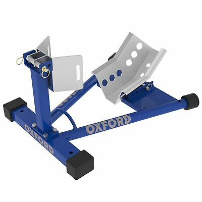 Oxford Workshop Motorbike / MC Front Wheel Dock / Stand For Transportation