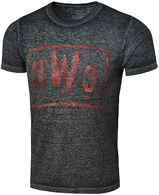 WWE WCW NWO WOLFPAC Outsiders OFFICIAL AUTHENTIC RETRO T