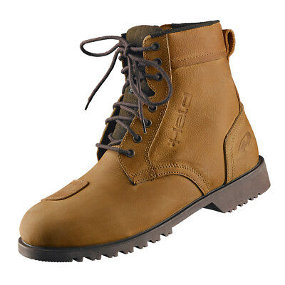 Held Urban Boots Lace-Up Shoes Motorcycle Shoes Cattleman Brown 8563 B-Ware