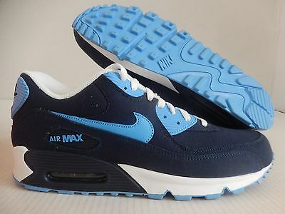 NIKE AIR MAX 90 Obsidian Blue-University Blue-White Sz 12