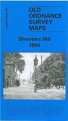 Old Ordnance Survey Map Shooters Hill 1894