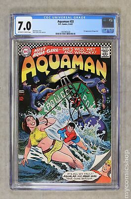 Aquaman (1st Series) #33 1967 CGC 7.0 1487865020