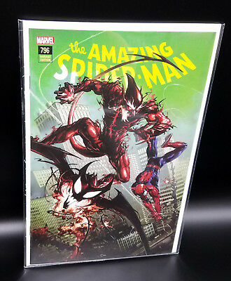 Amazing Spider-Man #796 Exclusive Clayton Crain Variant Cover Trade Dress