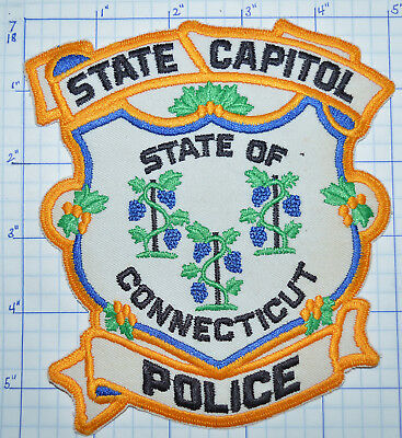 "Connecticut State Capitol Police 5.5"" Patch"