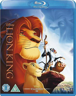 The Lion King (1994) Blu-Ray Disney BRAND NEW Free Shipping