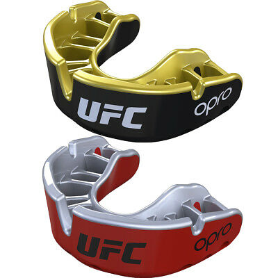 OPRO UFC Junior Gold Competition Level Self-Fit Gel Comfort Mouthguard