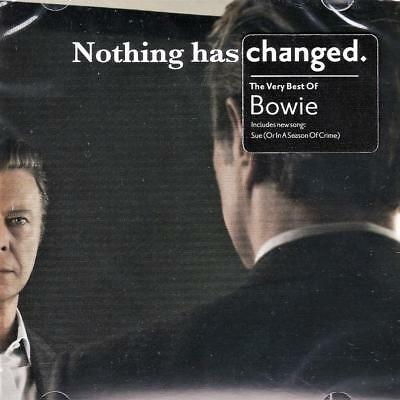 David Bowie - Nothing Has Changed  - The Very Best Of (New  Sealed Cd)