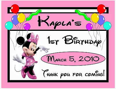 15 PINK LADYBUG BIRTHDAY PARTY FAVORS MAGNETS