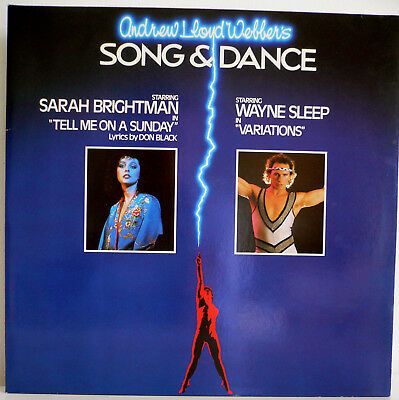 2 LP/ALBUM ** Andrew Lloyd Webber ** SONG & DANCE **  1984 RCA BL 70480 (2)