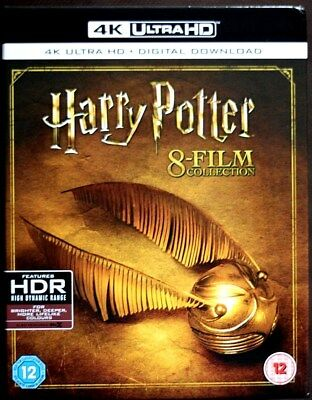 HARRY POTTER COMPLETE 8 FILM COLLECTION * Digital HD