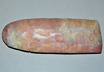 African Neolithic Stone Knapped Axe Head Native Tribal Tool Sahara Desert Africa