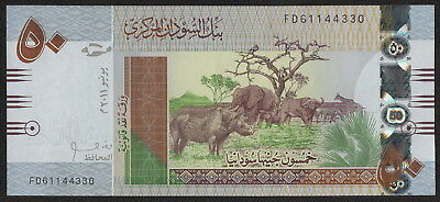 SUDAN (P75a) 50 Pounds 2011 UNC