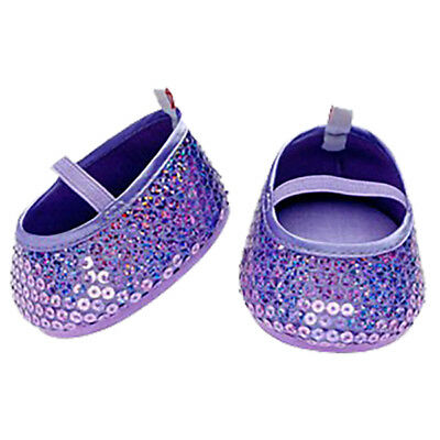 Build A Bear Purple Sequin Flats