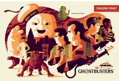 Ghostbusters Mondo Sdcc 2018 Online Poster Preorder