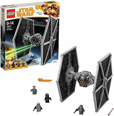 LEGO Star Wars Imperial TIE Fighter Toy Building Set - 75211.