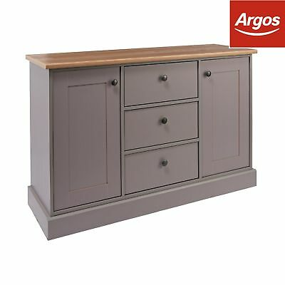 Argos Home Winchester 2 Door 3 Drawer Sideboard - Grey.
