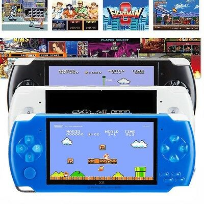 32bit Portable 8GB 4.3'' HD PSP Handheld Game Console +10000 Games Recording