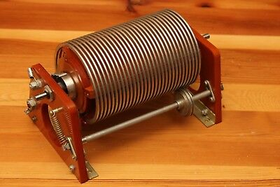Giant Variable Roller Inductor Coil - Hf Power Amplifier - Antenna Tuner  Hi Pwr