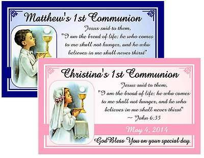 12 FIRST 1st HOLY COMMUNION MAGNETS FAVORS ~ communion child
