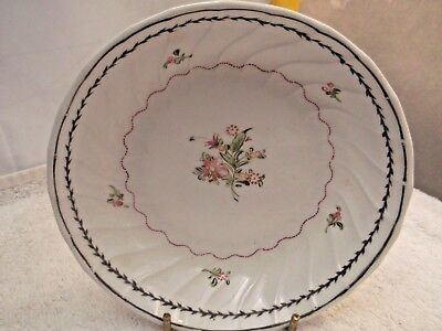?vintage Shallow Bowl   Possibly Late 18Th Century English Soft Paste