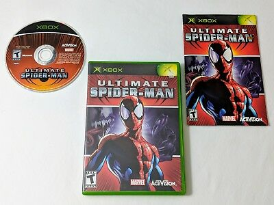 Ultimate Spider-man Complete Game for Original Xbox **TESTED & WORKS GREAT**