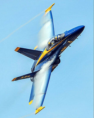 U.S. NAVY BLUE ANGELS WINGS OVER MYRTLE BEACH 8x10 SILVER HALIDE PHOTO PRINT