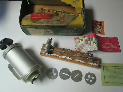 Vintage Mirro Cooky and Pastry Press Alumilite Cookie Spritz Maker