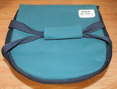 Genuine Pyrex Portables The Way to Go Microcore Hot/Cold Thermal Pocket Carrier!