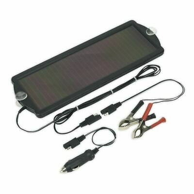SPP01 Sealey Solar Power Panel  Trickle Battery Charger 12V/1.5W per hour charge