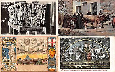 Lot of 22 Early / Vintage Italy Art Color Toned Postcards #103935 R