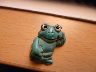 Ü-Ei - Figur - Faulenzer - aus Happy Frogs - 1986 - TOP - Frosch