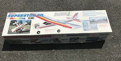 free shipping b33a9 bcf98 HOBBICO SUPERSTAR 40 Almost Ready to Fly ARF .35-.46 60