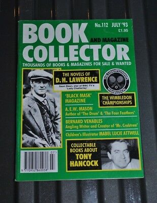 Book / Magazine Collector 112 July 1993 D.H Lawrence, Bernard Venables, Attwell