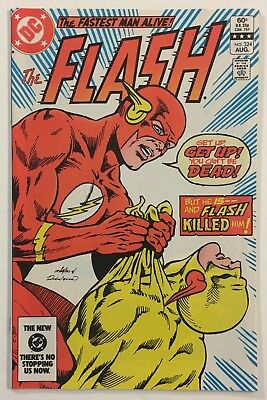 The Flash #324 NM- WP Death of Reverse Flash Key Issue Bronze Age 1983 DC Comics