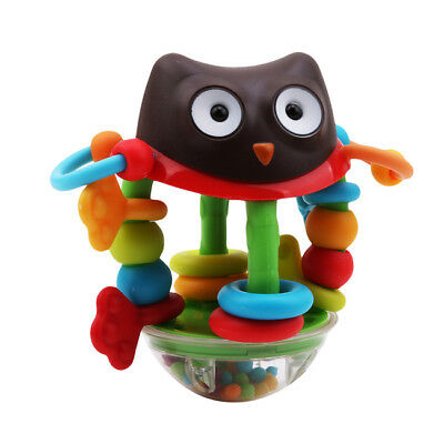 Baby Infant Animal Musical Handbell Rattle Ball Teether Grasping Activity Toys