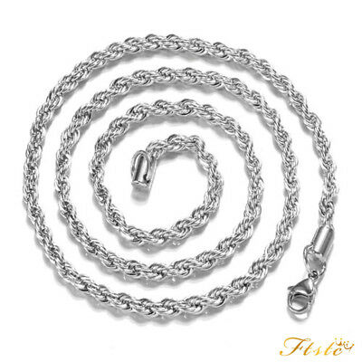 Wholesale New 925 Sterling Silver Filled 3mm Classic Chain Necklace For Pendants