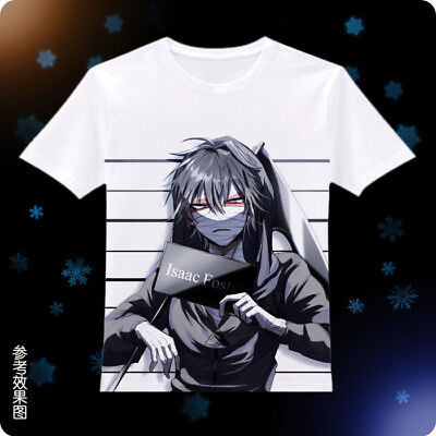 Anime Angels of Death Ray Zack T-shirt Unisex Short Sleeve Tops Tee #Y65q