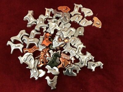 Lot of 57 Vintage Little Mothers Cooky Animal Cookie Cutters