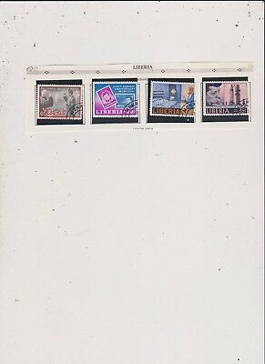 Liberia John F Kennedy Stamps  Used Hinged