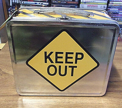 Collectible Tin Lunchbox Lunch Box Keep Out New With Tag Boxes