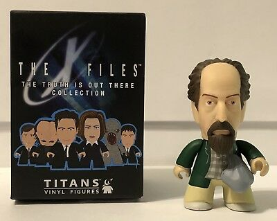 X-Files The Truth Is Out There Collection Titans Vinyl Figures Lanny With Box