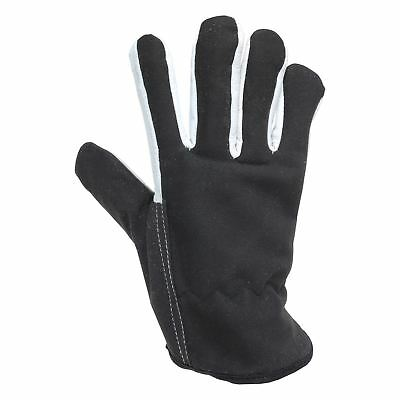 Briers Lined Dual Leather Gardening Work Gloves Garden Accessory Black Large
