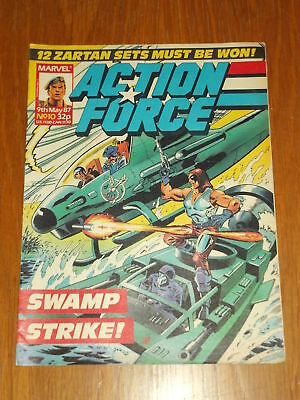 Action Force #10 9Th May 1987 Marvel British Weekly Comic